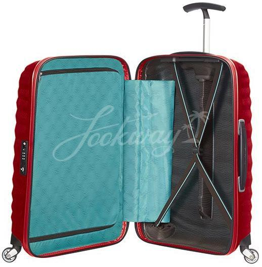 Чемодан Samsonite 98V*001 Lite-Shock Spinner 55cm