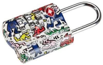 Замок Samsonite U23*115 Keith Haring Collection US AIR TR 3 DAIL COMBILOCK 2 KH