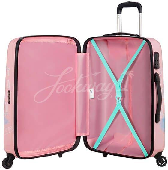 Чемодан American Tourister 19C-80007 Disney Legends 2.0 Spinner 65cm 19C*007