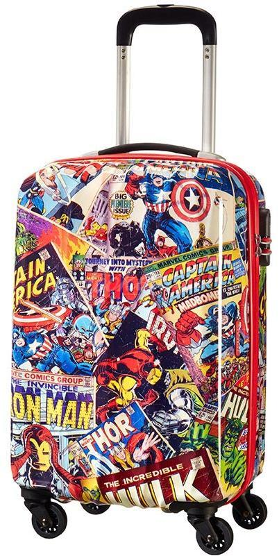 Чемодан American Tourister 21C*006 Marvel Legends Spinner 55cm