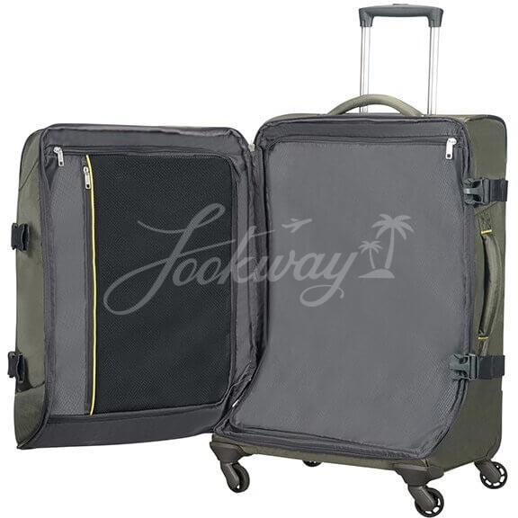 Чемодан Samsonite 37N*007 4Mation Duffle with wheels 67см